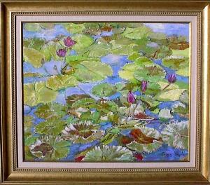 "Francis Donald  "" Hawaiian Lilypads"""