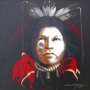 "JD Cahllenger, ""Taos Study # 6"" Acrylic on Canvas, 16 x 16, $ 3300"
