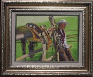 """Ray Vinella  """"Cowboy Waiting"""""""